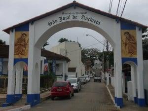 O destino final é no Santuário Nacional de São José de Anchieta, em Anchieta.