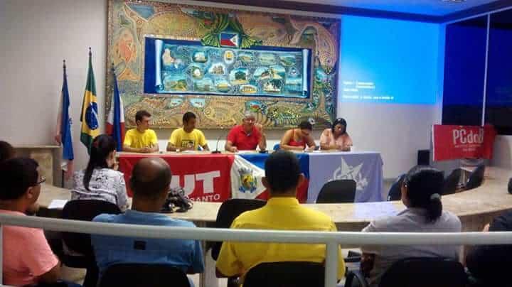 a reunião do diretório municipal aconteceu no último sábado. Foto: Divulgação