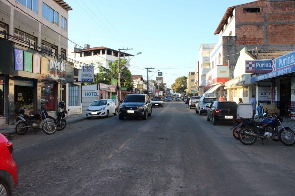 A avenida Ewerson de Abreu Sodré vai receber ciclofaixas e asfalto novo. foto: João Thomazelli/Portal 27