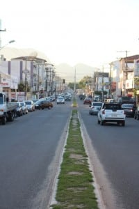 A avenida Jones dos Santos Neves também vai ter ciclofaixas. Foto: João Thomazelli/Portal 27