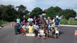 Skatistas de Guarapari vão dar um rolê pela cidade neste domingo. Foto: Divulgação