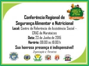 conferencia alimentar