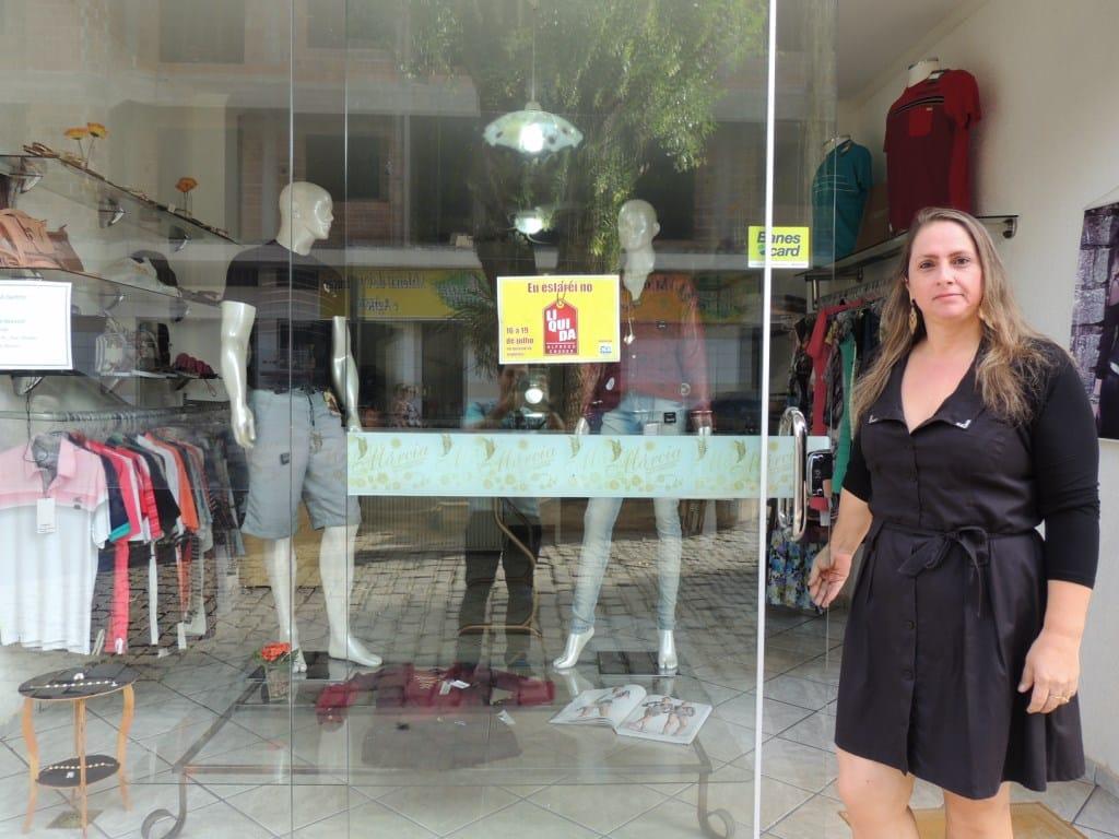 Márcia Antônia Nalesso adorou a ideia. Foto: ACOM/Alfredo Chaves