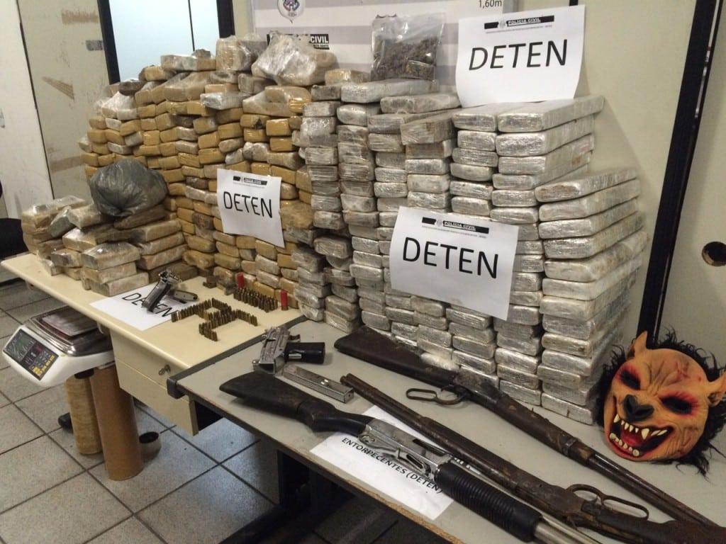 A Delegacia de Tóxicos e Entorpecentes (Deten) recebeu a denúncia no início deste ano e investigava os suspeitos há três meses.