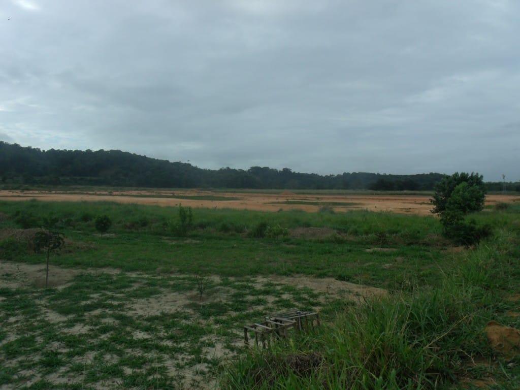 Local onde será construído o novo estádio do Guarapari. Foto: João Thomazelli/Portal 27