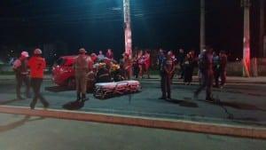 A vítima foi encaminhada para o Hospital Bezerra de Faria em Vila Velha. Foto: Wilson Salles