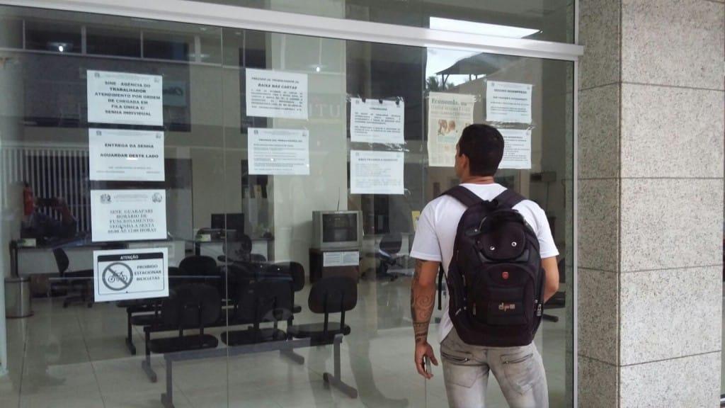 O Sine de Guarapari está fechado desde o dia 1º de Julho. foto: Wilcler Carvalho/Portal 27