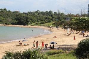 A praia de Bacutia também está na briga pela certificação. Foto: João Thomazelli/Portal 27