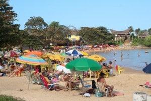 Das três praias da Enseada Azul, Peracanga é a que mais tem chances de receber a certificação. Foto: João Thomazelli/Portal 27