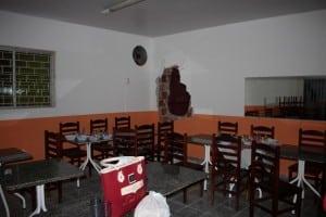 Por sorte o restaurante não estava funcionando. foto: João Thomazelli/Portal 27