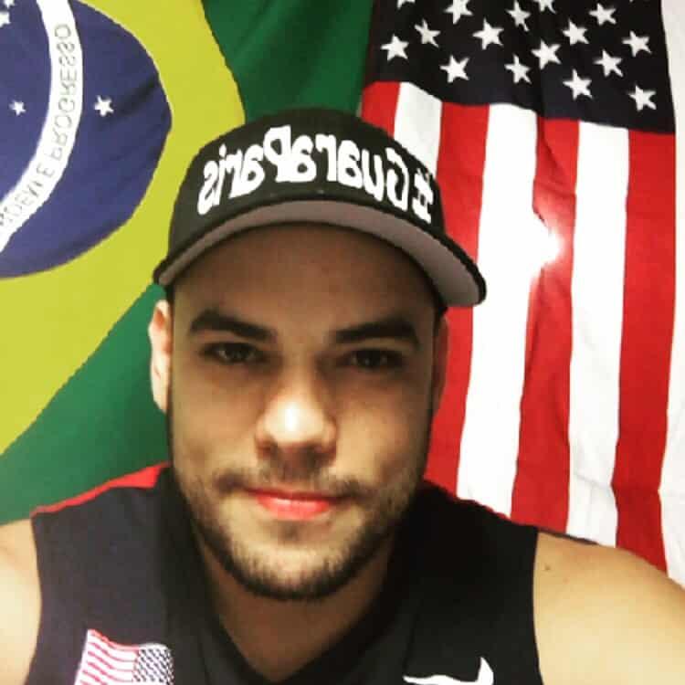 Jones deixou o Brasil e está conquistando muitas coisas nos EUA. Foto: Arquivo Pessoal.