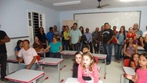 Escola de nova Jerusalém foi reformada pela prefeitura. Foto: Divulgação