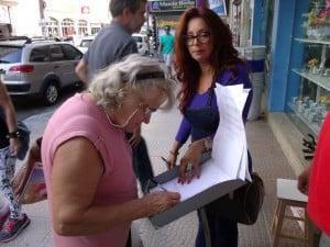 São necessários cerca de 3,5 mil assinaturas para a petição virar Projeto de Lei na Câmara de Vereadores. Foto: João Thomazelli/Portal 27