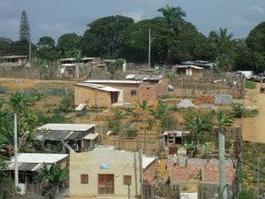Na área em questão vivem cerca de 40 famílias. Foto: João Thomazelli/Portal 27