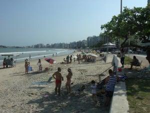 Com a chegada do feriado, chegam também os turistas. Foto: João Thomazelli/Portal 27