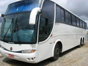 Os ônibus terão circulação controlada na cidade.