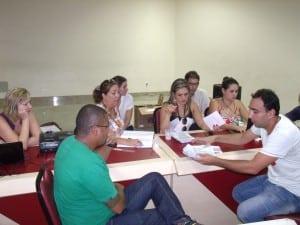 Apuração dos votos terminou às 20 horas. Foto: João Thomazelli/Portal 27