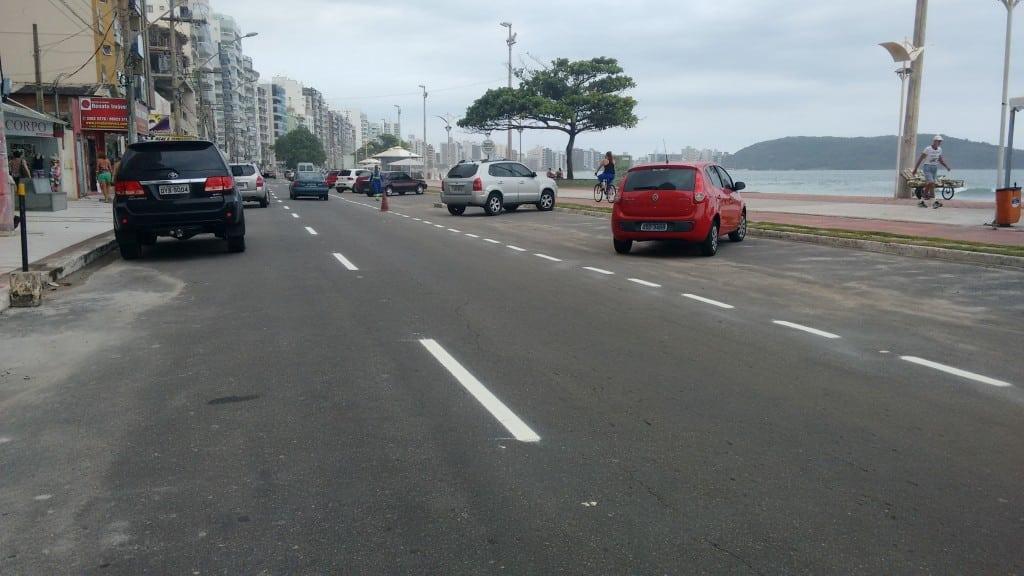 mudanças trânsito praia do morro guarapari