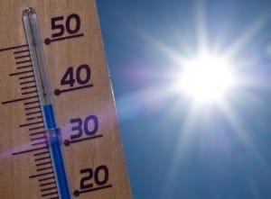 temperatura alta calor