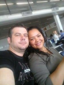 Geberson Guisso e Patrícia se conheceram no Costa e Silva. Foto: divulgação