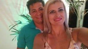 Amled e Jackson Brandão se conheceram no Costa e silva e se reencontraram 20 anos depois. Foto: Álbum pessoal