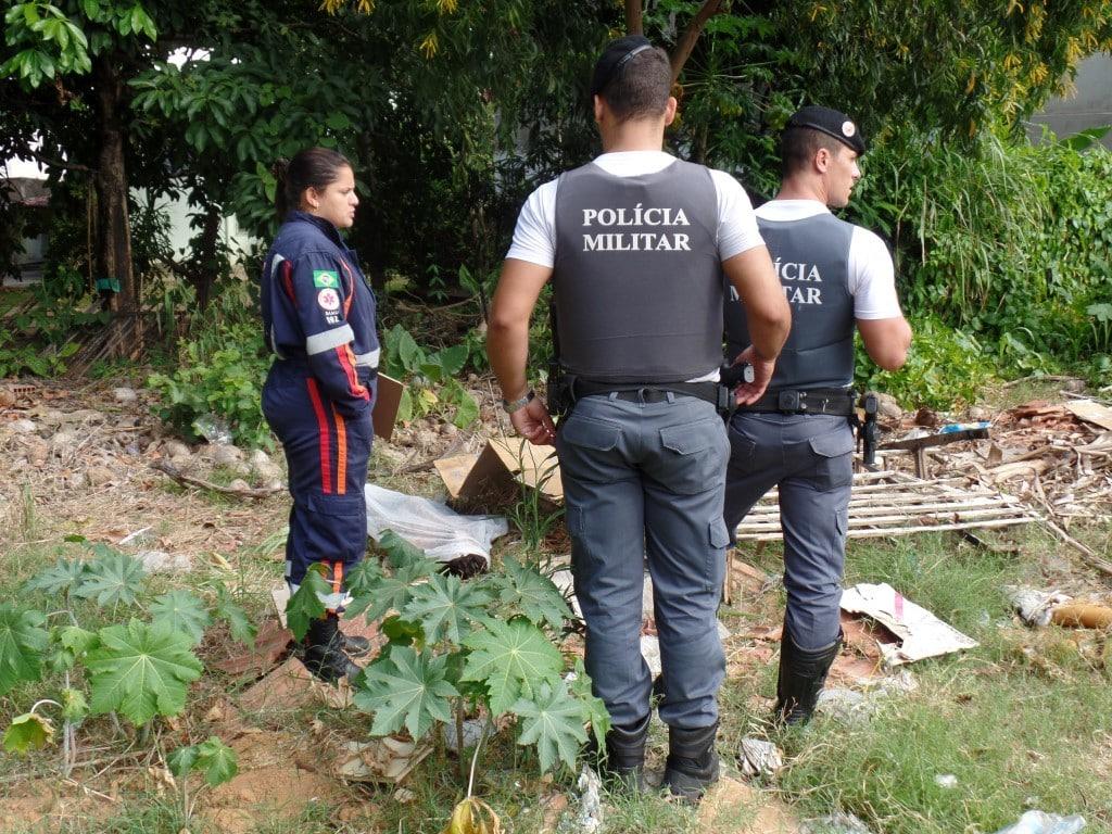 O homem morreu a poucos metros da recepção da Upa de Guarapari. foto: João Thomazelli/Portal 27
