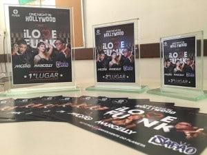 troféus one night in hollywood 2016
