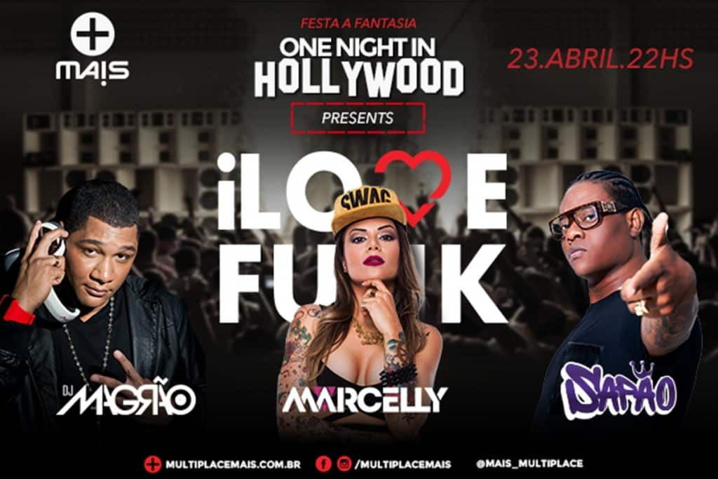 Festa a fantasia one night in hollywood
