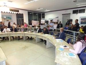 Vereadores de Guarapari votaram a favor do fim do voto secreto. Foto: João Thomazelli/Portal 27