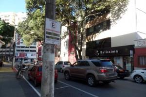 Várias ruas do Centro ficaram sem os agentes do rotativo por causa da paralisação. Foto: João Thomazelli/Portal 27