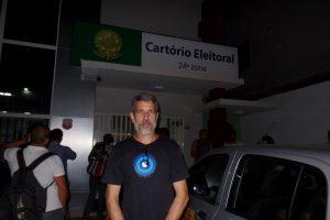 José Amaral (Psol) comentou o fato de quererem que ele fique fora do debate em uma tv da cidade. Foto: João Thomazelli/Portal 27