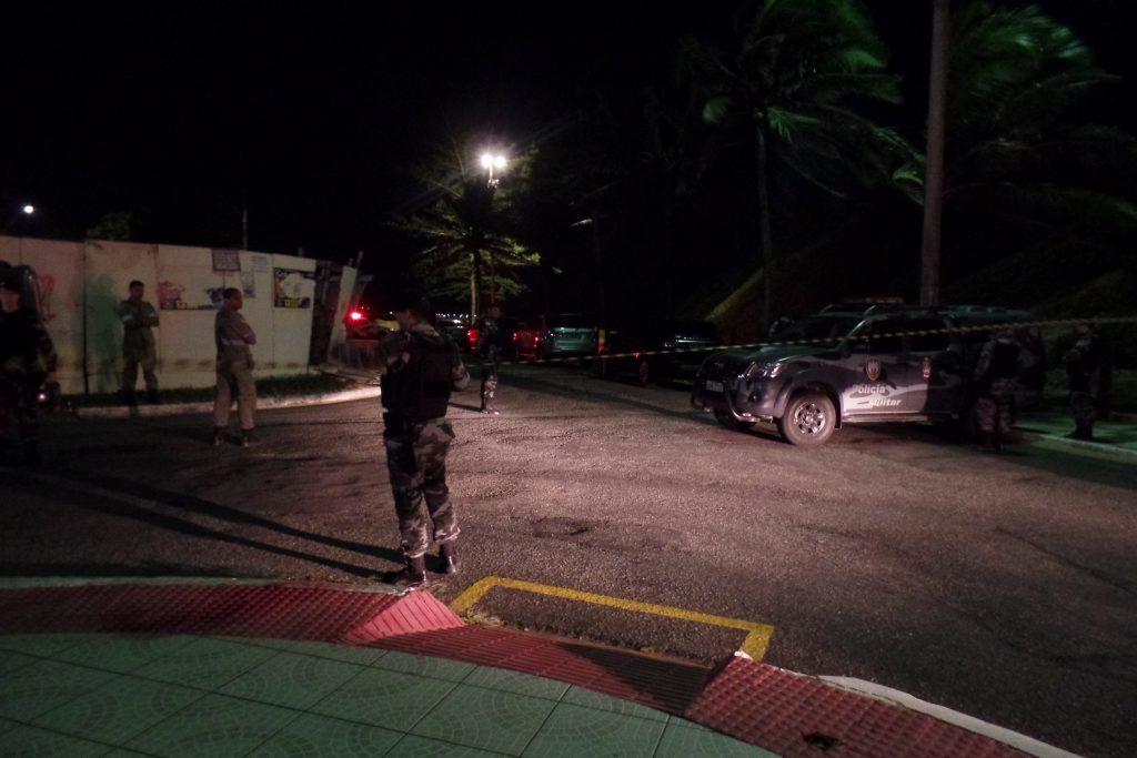O Batalhão de Missões Especiais foi acionado para negociar com o homem. Foto: João Thomazelli/Portal 27