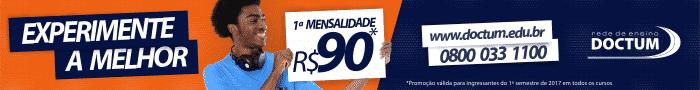 Doctum Matricula R$ 90,00